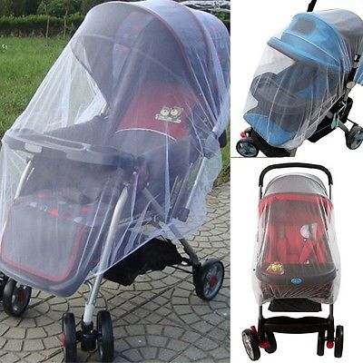 Mosquito Insect Net Safe Mesh Netting for Infants Baby Stroller Pram Pushchair Cart-Fashion3K