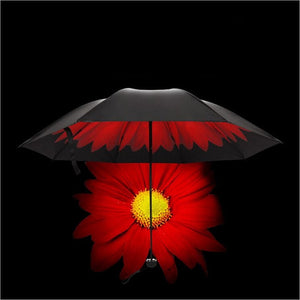 Awesome Colorful Floral Double Layer Umbrella Sun & Rain Proof-Fashion3K