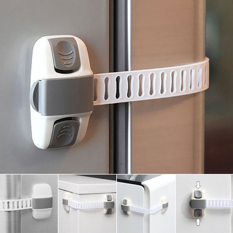 Adjustable Fridge Door Lock Appliance For Baby Safety-Fashion3K