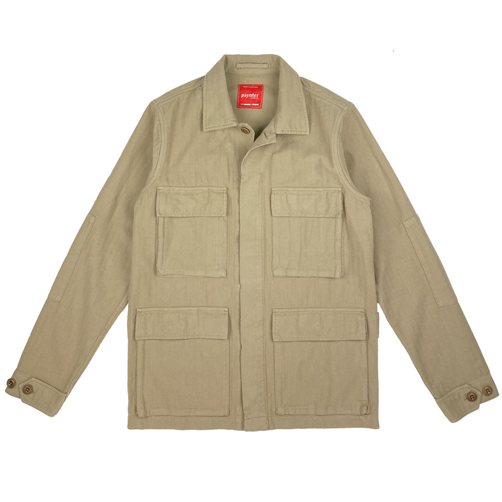 main Paynter Jacket Co's Batch No.3 - The Field Jacket. Limited Edition. Label designed by Ilya Milstein.
