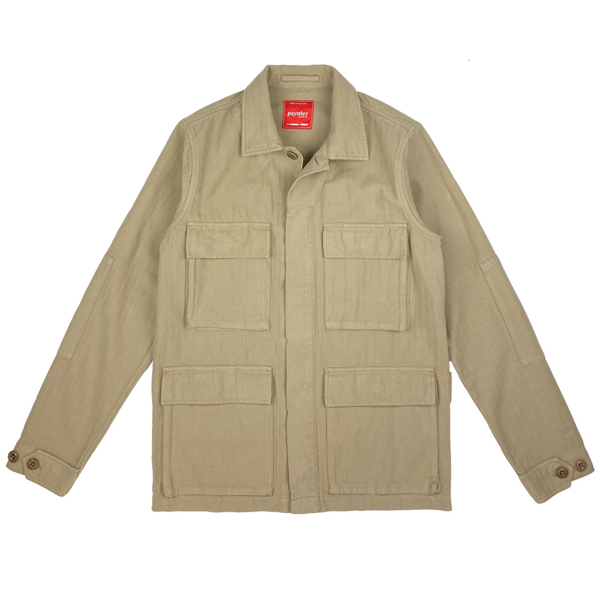 Paynter Jacket Co's Batch No.3 - The Field Jacket. Limited Edition. Label designed by Ilya Milstein.