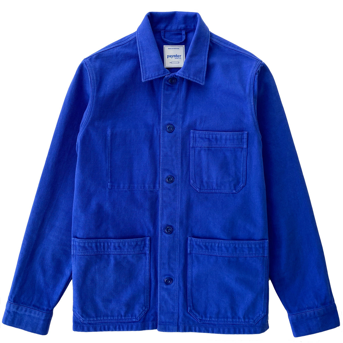 Paynter Jacket Co's Batch No.3.5 - The NHYES Jacket made exclusively in Bill Cunningham Blue. Limited Edition.