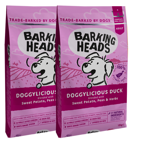 barking heads doggylicious duck multi packs