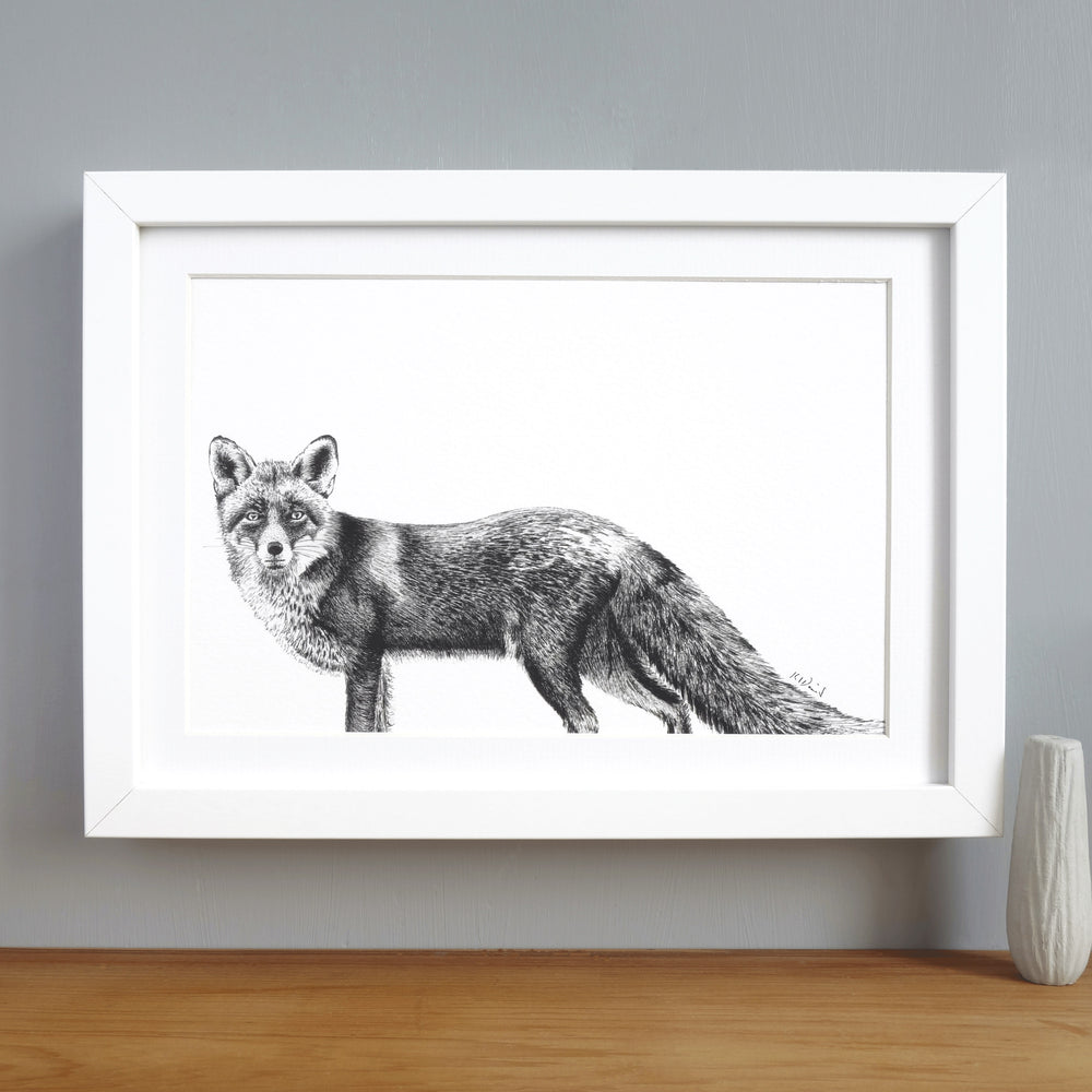 Fox Print 'The Lonesome no.2'