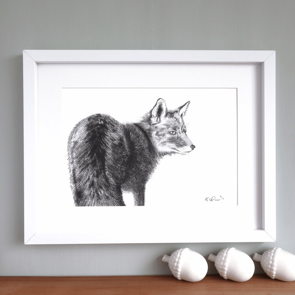 Fox Print 'The Lonesome no.1'