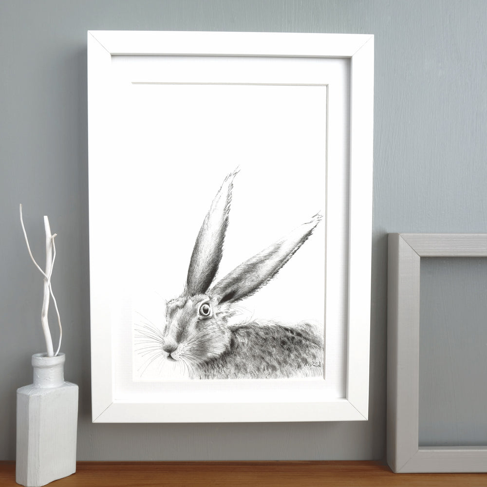 Hare Print 'The Runners no.6'