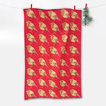 Wild Robin Tea Towel