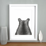 Bear Print 'The Grizzly one'