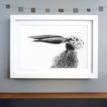 Hare Print 'The Runners no.5'