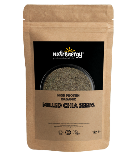 High Protein Milled Organic Chia Seeds