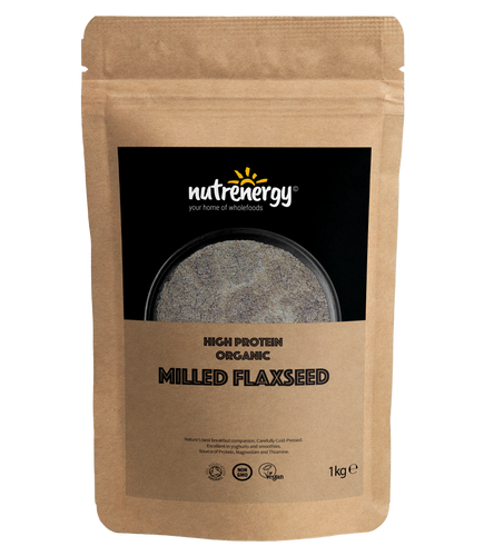 High Protein Milled Organic Flaxseed