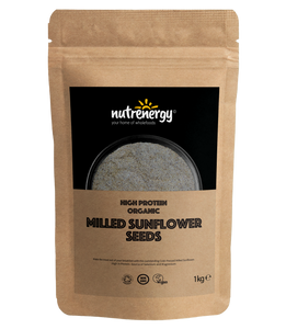 High Protein Milled Organic Sunflower Seeds