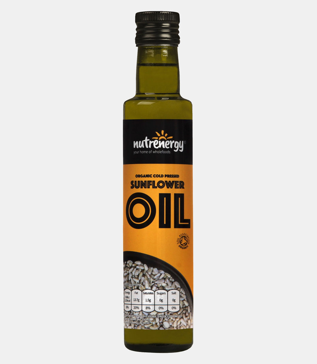 Organic Cold-Pressed Sunflower Seed Oil