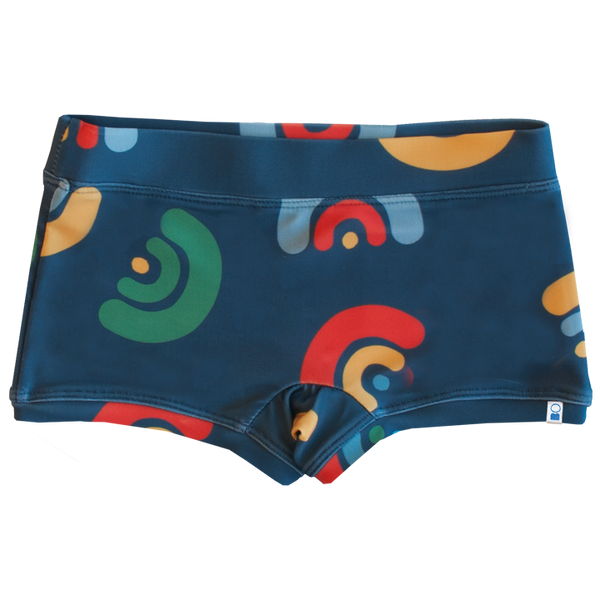 "SHORT LYCRA ESTAMPADA ""MINI Z AGUA EST"""