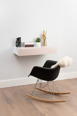Hideaway Wall Desk | White Maple | Expandable Worktop | Ideal for Home-Office | IN-STOCK NOW