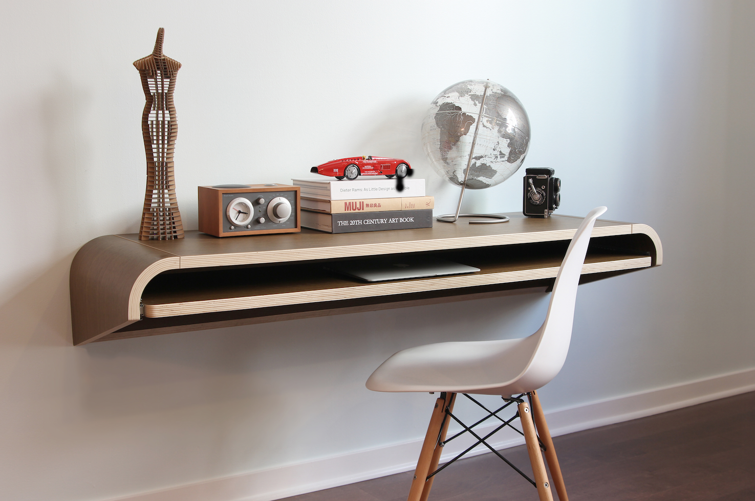 wall mounted writing desk
