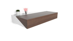 Hideaway Wall Desk | Walnut | Expandable Worktop | Ideal for Home-Office |IN-STOCK NOW