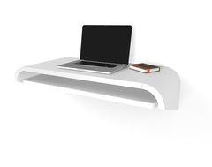 Minimal Wall Desk | White | Small | Ideal for Home Office  -  Out of Stock