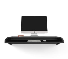 Minimal Wall Desk | Black | Large | Pull-out Shelf | Ideal for Home-Office | 50% Discount