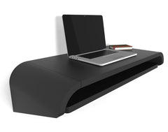 Minimal Wall Desk | Black | Small | Pull-out Shelf | Ideal for Home-Office | 50% Discount