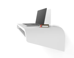 Minimal Wall Desk | White | Small - OUT OF STOCK
