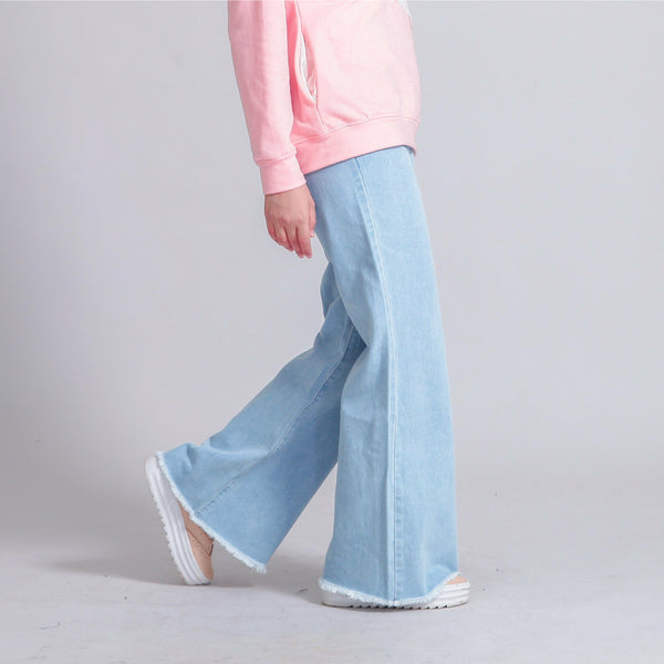 Sandra Fray Bootcut Jeans