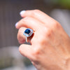 Blue Amber Ring, Ada