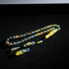 Blue Amber Tasbih, 33 Beads, 8mm Beads, 15gr