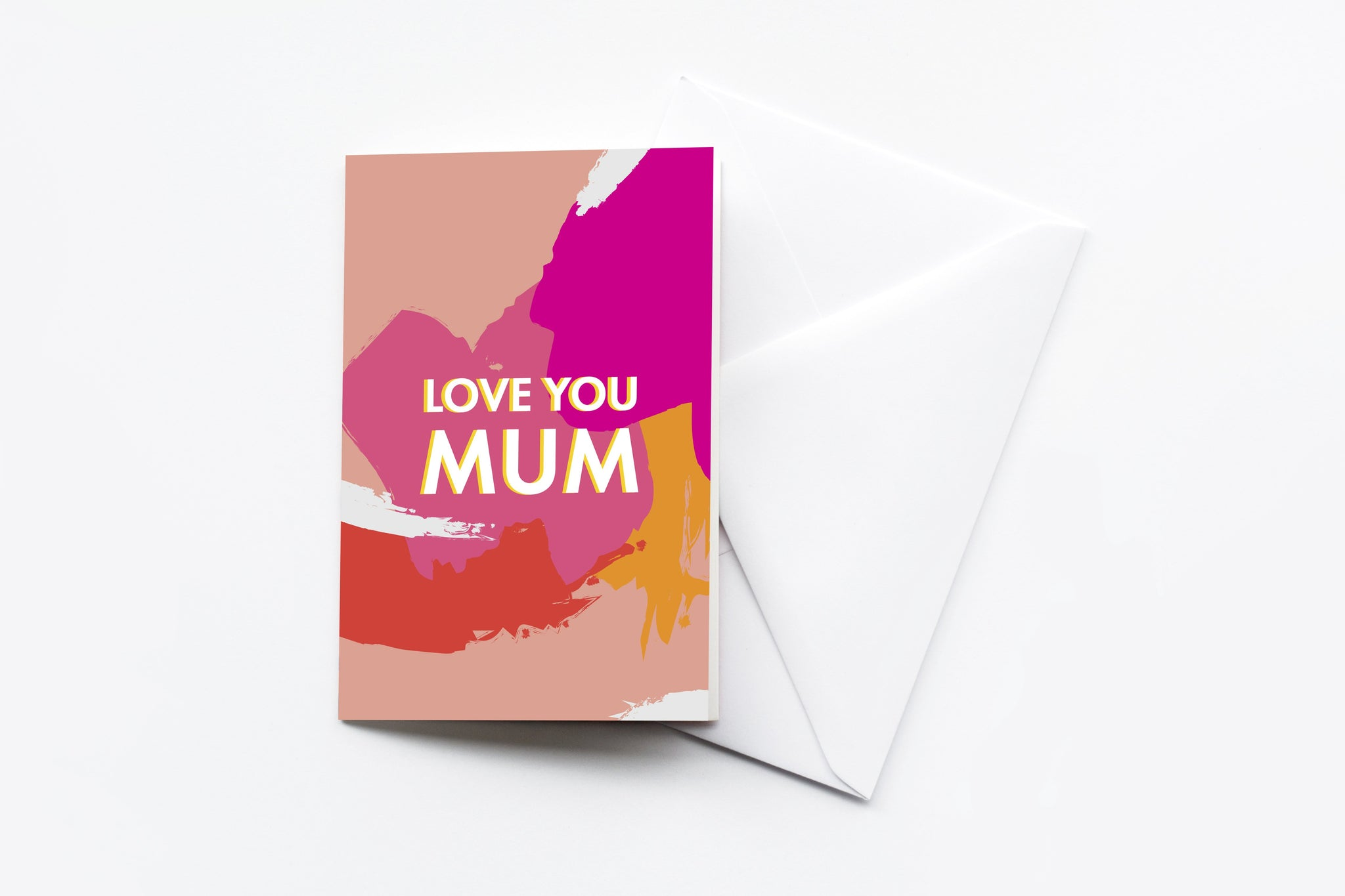 'Love You Mum' Card