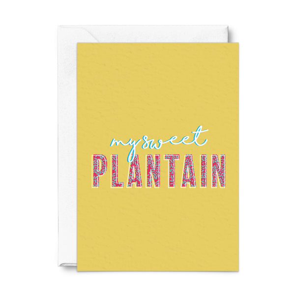My Sweet Plantain Card