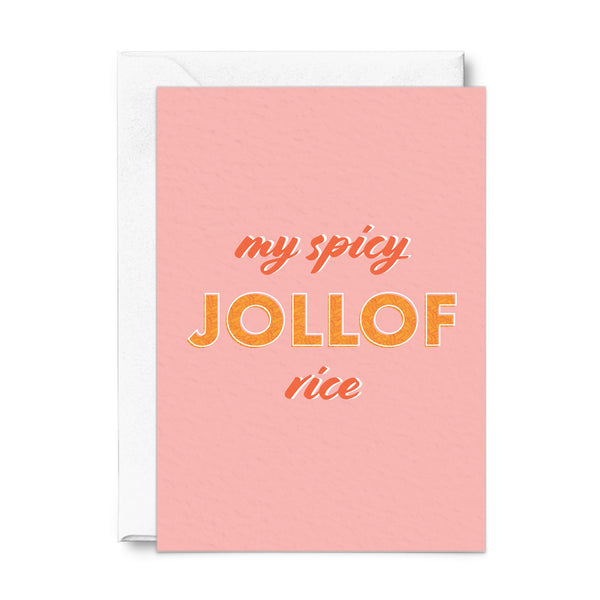 jollof rice card