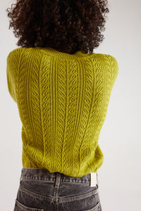 RUFUS SWEATER PISTASCH GREEN