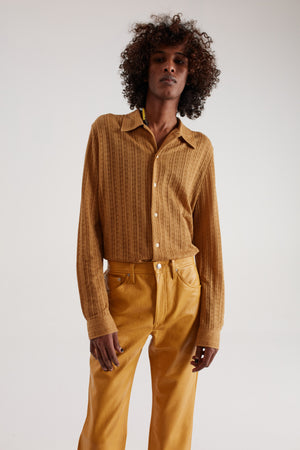 RIPLEY SHIRT MEDALLION YELLOW