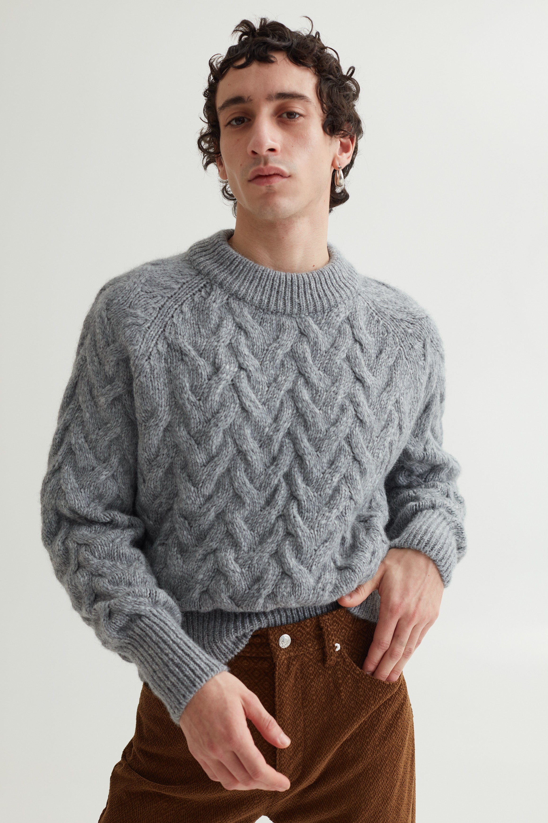 ABI SWEATER RHINO GREY