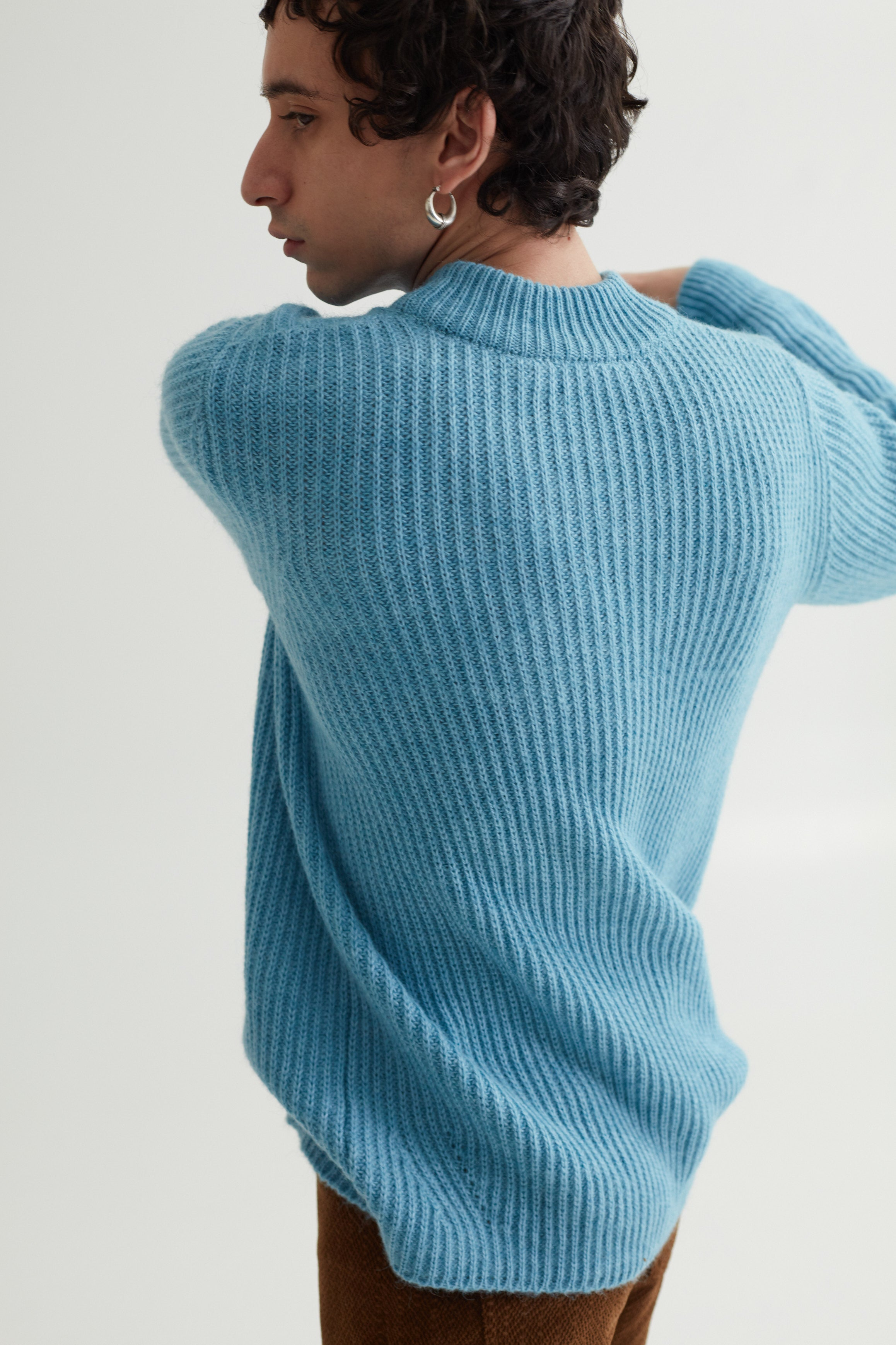 LETH SWEATER CELESTE BLUE