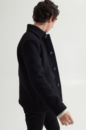 KEITH JACKET CASENTINO BLACK