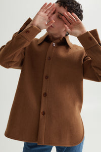 MATS OVERSHIRT PEANUT BROWN