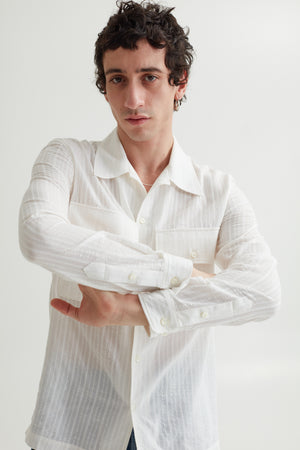 LUKEY SHIRT FORMAL WHITE