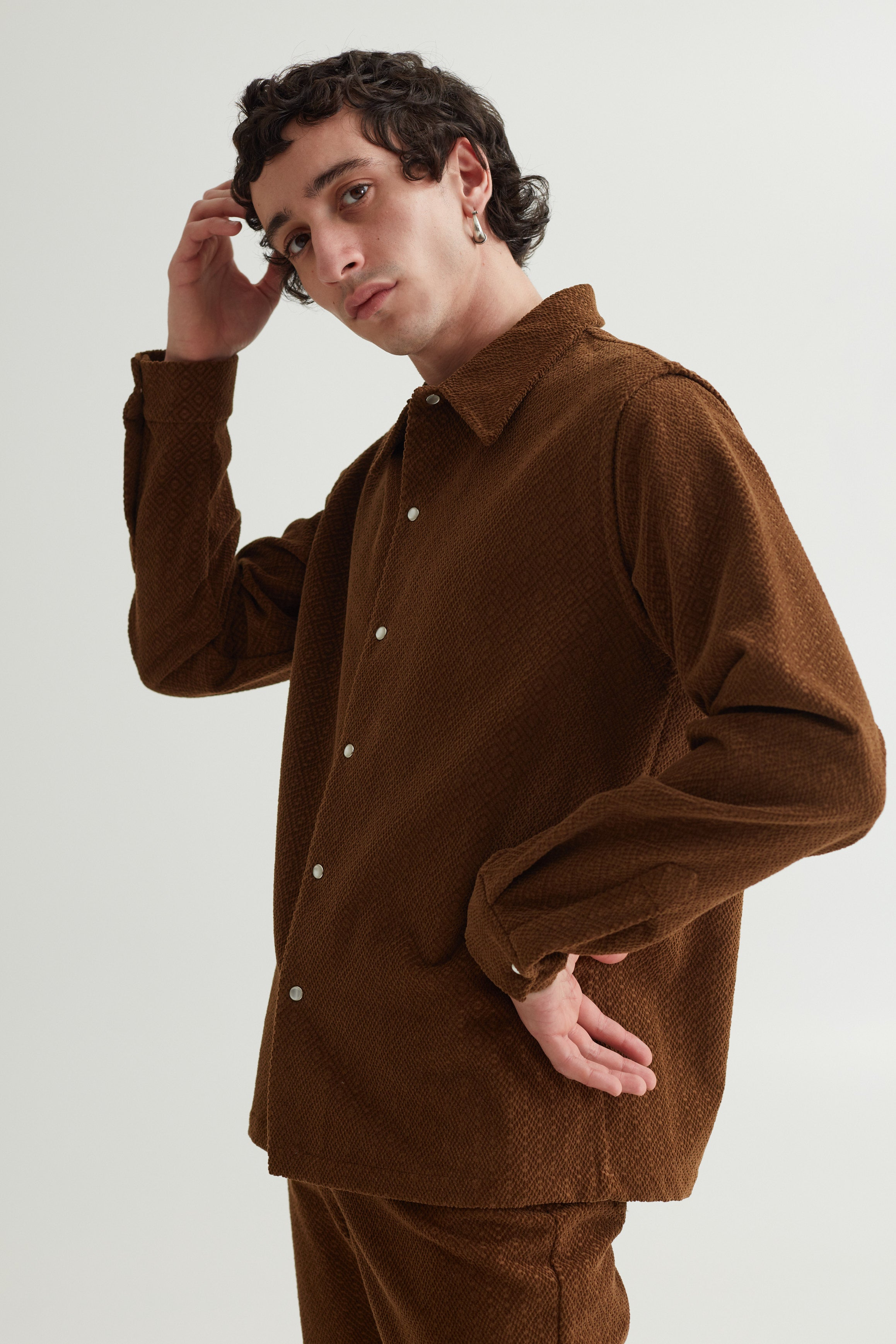 RAMI SHIRT OAK BROWN