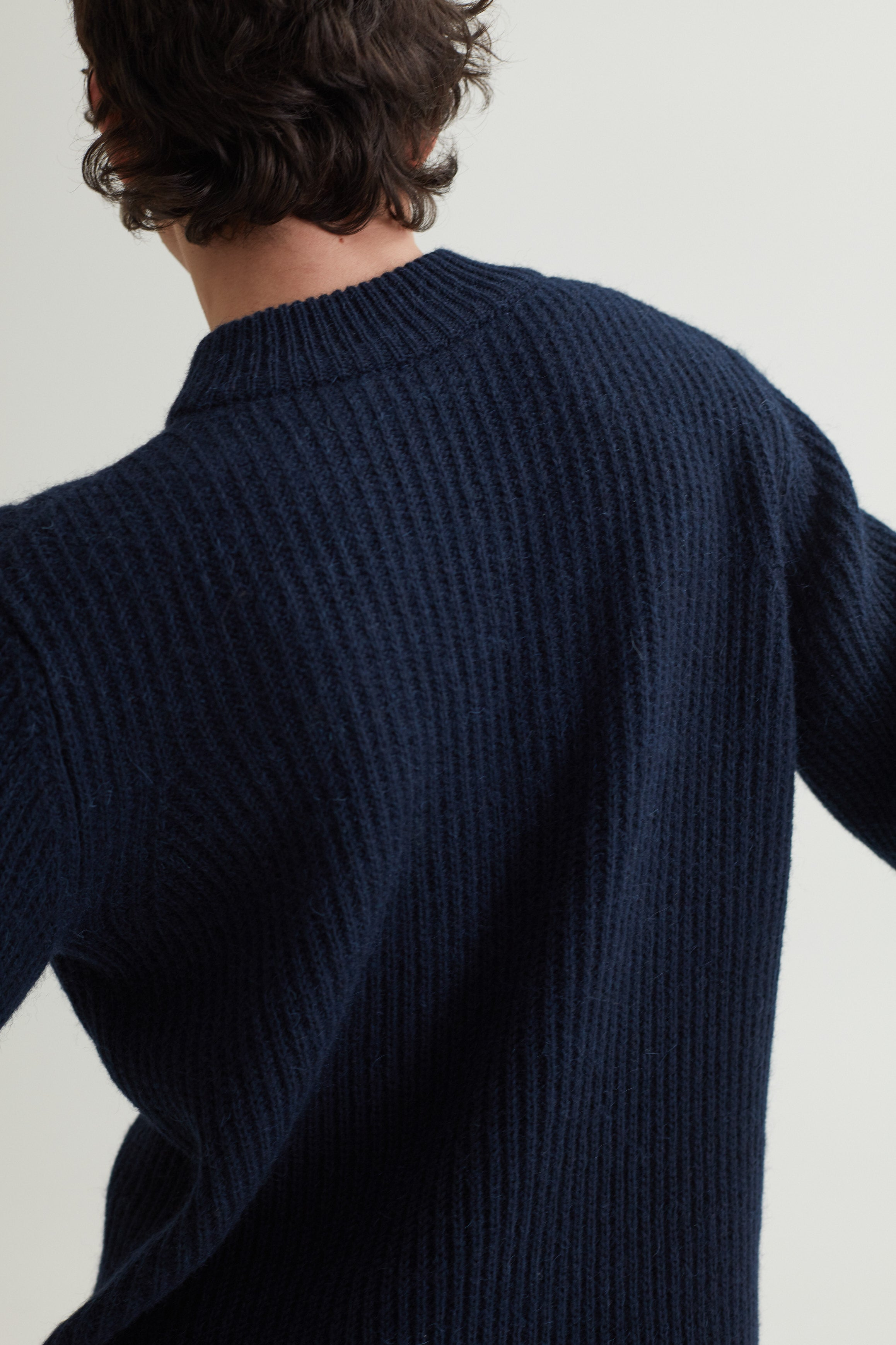 LETH SWEATER DARK NAVY