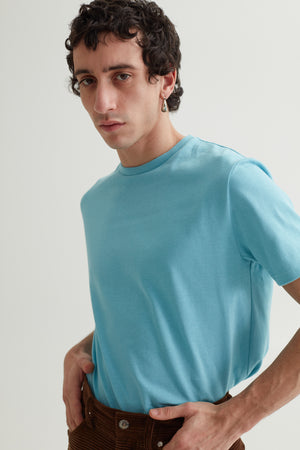 CLIN TEE CADET BLUE