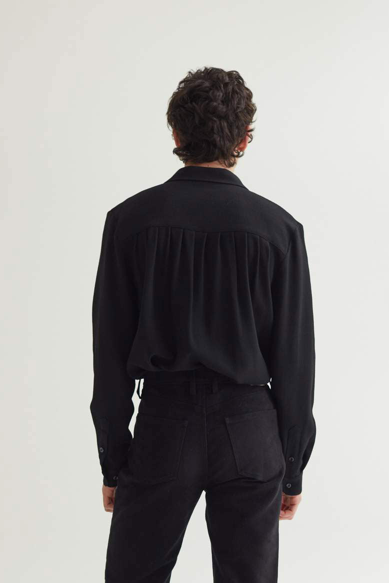 RAMPOUA SHIRT BLACK