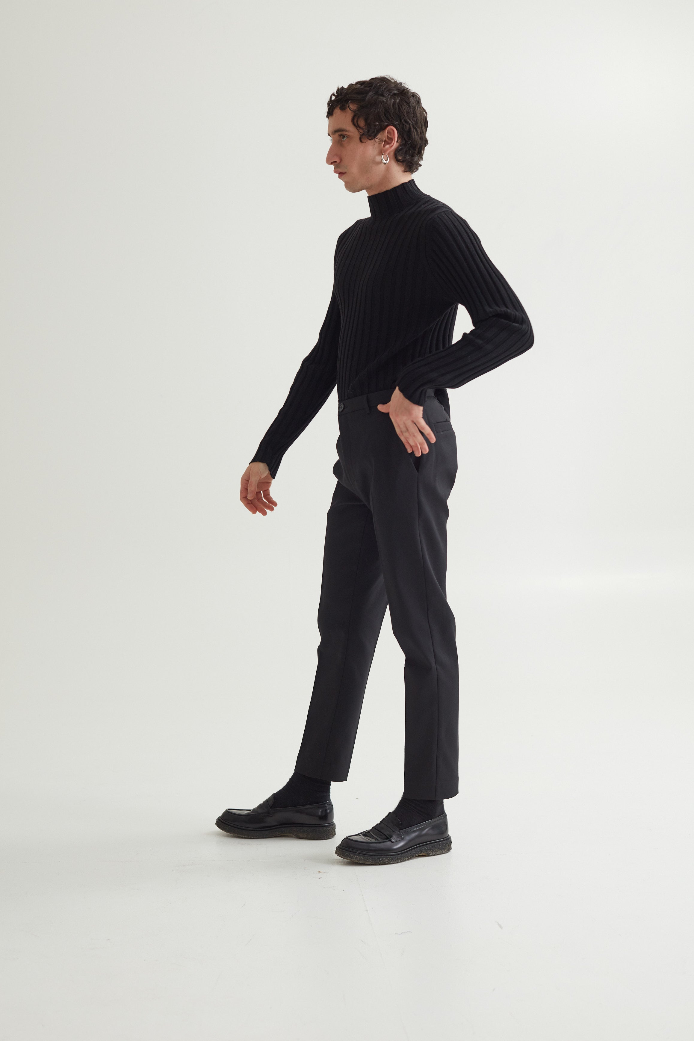 HARVEY TROUSERS BLACK