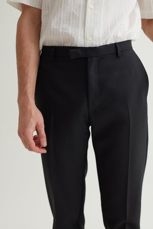 HARVEY SUIT TROUSERS BLACK