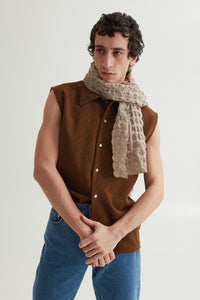 CLINT VEST OAK BROWN