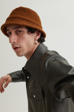BUCKET HAT CASENTINO BROWN