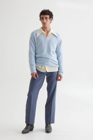LINUS SWEATER PALE BLUE