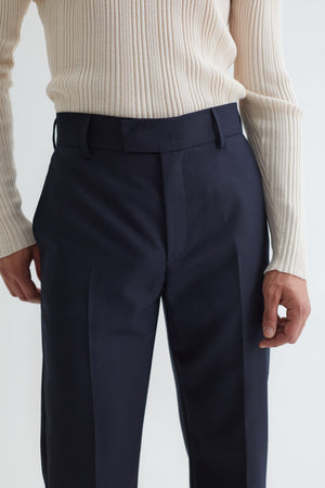 MIKE SUIT TROUSERS DARK NAVY