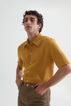 RAMPOUA SHORT SLEEVE  MERIGOLD
