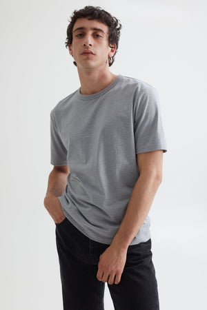 LUCA TEE GRAPHITE GREY